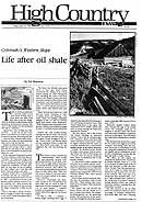 Life After Oil Shale HCN Cover