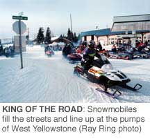Move Over Will Snowmobile Tourism Relax Its Grip On A Gateway Town High Country News Know The West