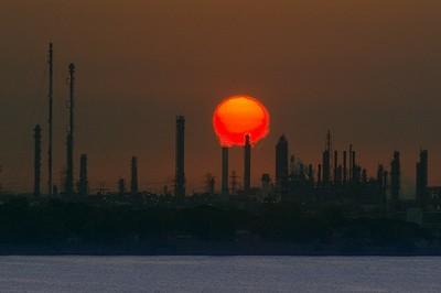 Exxon Mobile refinery in Houston