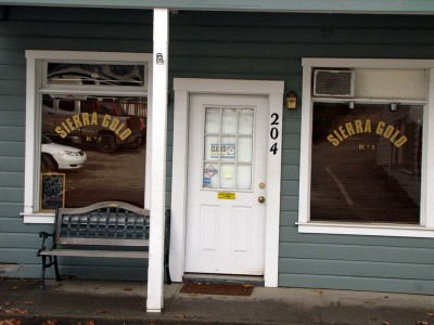 Storefront in Downieville