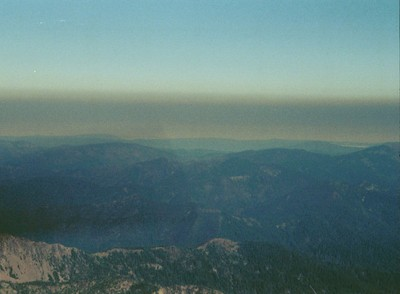 wilfire smoke inversion