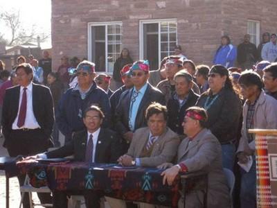 Zuni leaders