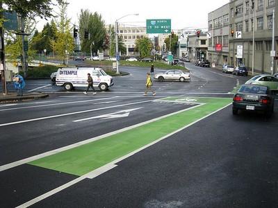 Portland Bike Lane