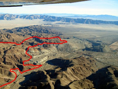 Proposed Landfill Location near Joshua Tree NP