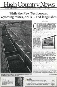 While the New West booms, Wyoming mines, drills ... and languishes