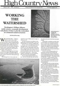 Working the Watershed
