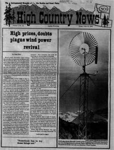 High prices, doubts plague wind power revival