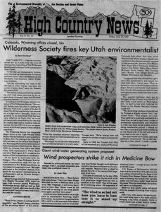 Wilderness Society fires key Utah environmentalist