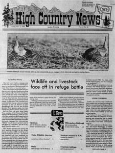 Wildlife and livestock face off in refuge battle