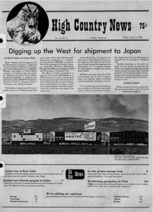 Digging up the West for shipment to Japan