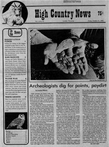Archeologists dig for points, paydirt
