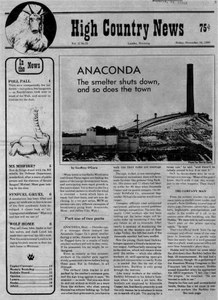 Anaconda: The smelter shuts down, and so does the town
