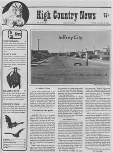"Jeffrey City: ""I don't know a person in town who isn't thinking of leaving"""
