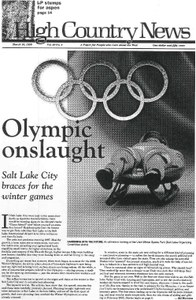 Olympic onslaught: Salt Lake City braces for the winter games