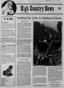 Looking for juice in backyard dams