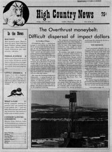 The Overthrust moneybelt: Difficult dispersal of impact dollars
