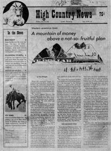 A mountain of money above a not-so-fruitful plan