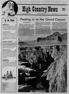 Peaking in on the Grand Canyon