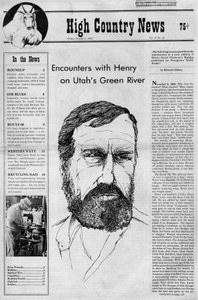 Encounters with Henry on Utah's Green River