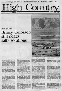 Briney Colorado still defies salty solutions