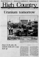 Uranium tomorrow