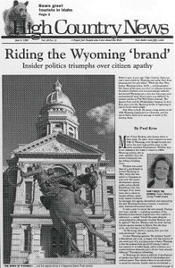Riding the Wyoming 'brand'