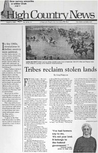 Tribes reclaim stolen lands