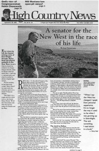 A senator for the New West in the race of his life