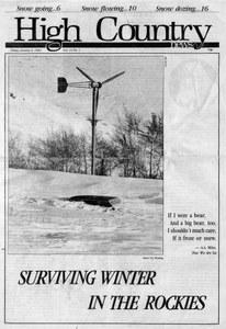 Surviving winter in the Rockies