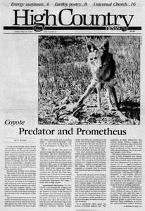 Coyote: Predator and Prometheus