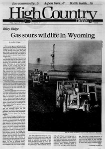 Gas sours wildlife in Wyoming