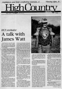 A talk with James Watt