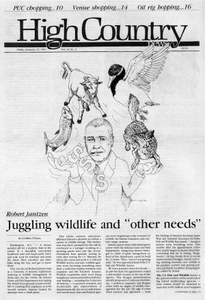 Juggling wildlife and 'other needs'