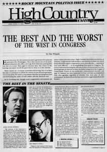 The Best and Worst of the West in Congress