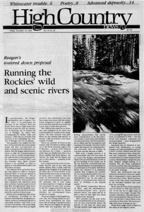 Running the Rockies' wild and scenic rivers