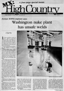 Washington nuke plant has unsafe welds