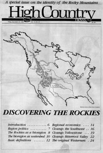 Discovering the Rockies