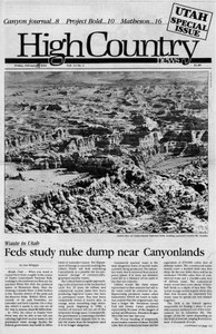 Feds study nuke dump near Canyonlands