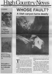Whose fault? A Utah canyon turns deadly