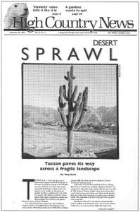 Desert sprawl