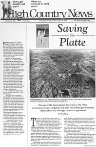 Saving the Platte