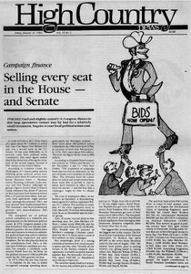 Selling every seat in the House -- and Senate