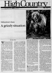 A grizzly situation