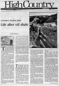 Life after oil shale