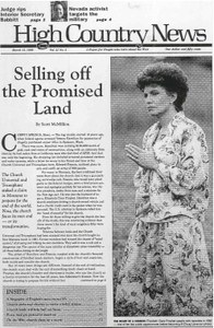 Selling off the Promised Land