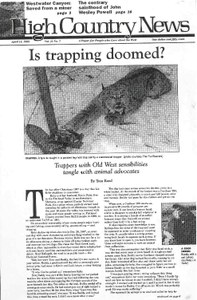 Is trapping doomed?