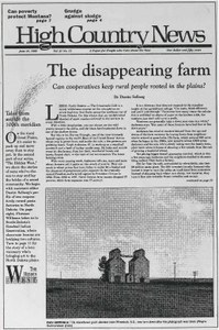 The disappearing farm