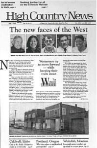 The new faces of the West