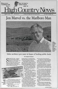 Jon Marvel vs. the Marlboro Man