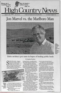 Jon Marvel vs. the Marlboro Man
